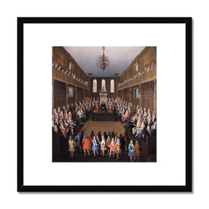 The House of Commons in Session Framed Print