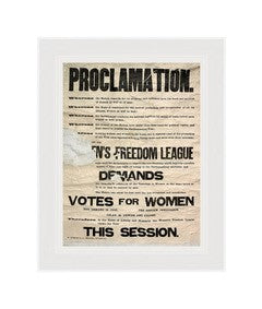 "16 x 12"" Mounted Proclamation Print featured image"