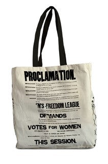 Proclamation Canvas Tote Bag featured image