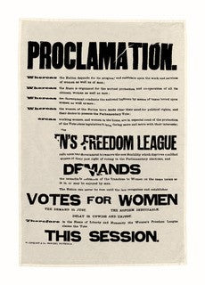 Proclamation Tea Towel featured image