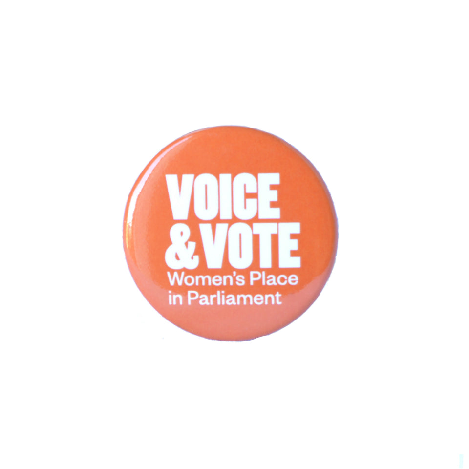 Voice & Vote Pin Badge featured image
