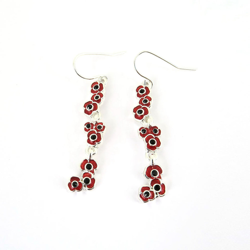 Cluster Poppy Drop Earrings featured image
