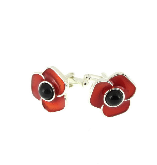 Poppy Cufflinks featured image