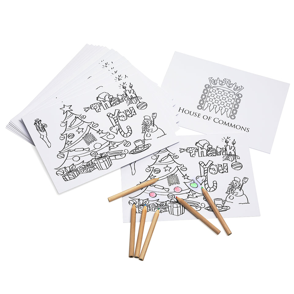 Christmas Thank You Cards with Pencils featured image