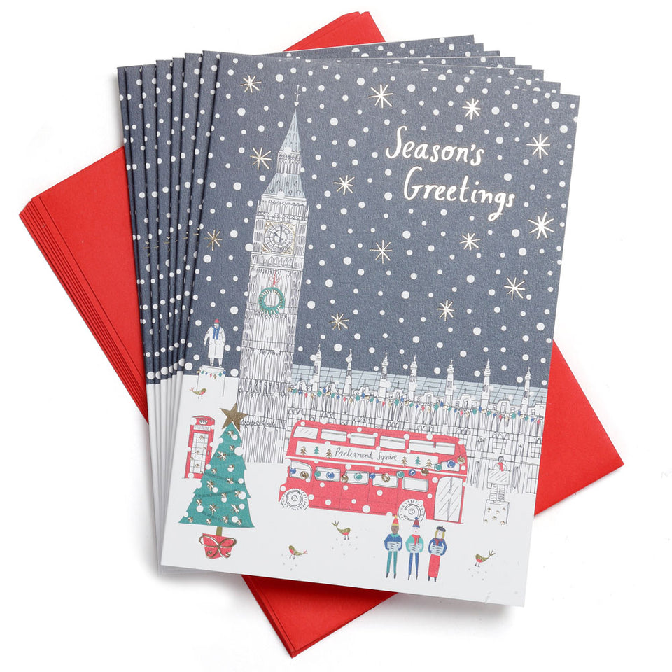 Palace Illustration Christmas Cards - Pack of 8 featured image