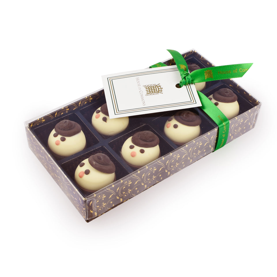 White Chocolate Snowmen featured image
