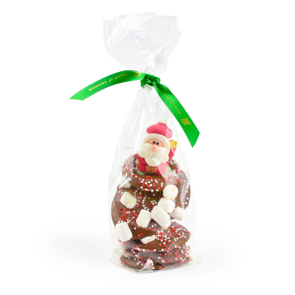 Chocolate Santa Buttons featured image