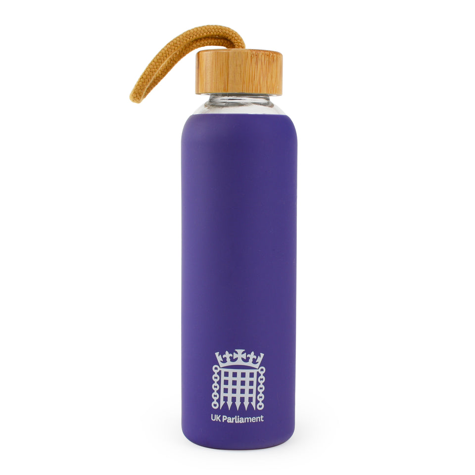 UK Parliament Glass Water Bottle featured image