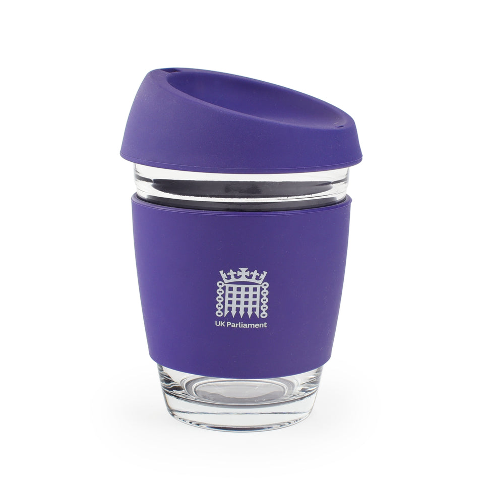 UK Parliament Glass Coffee Cup featured image