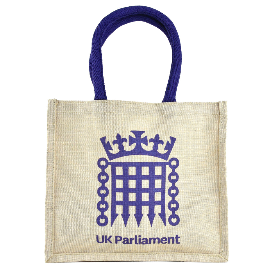 UK Parliament Jute Bag featured image