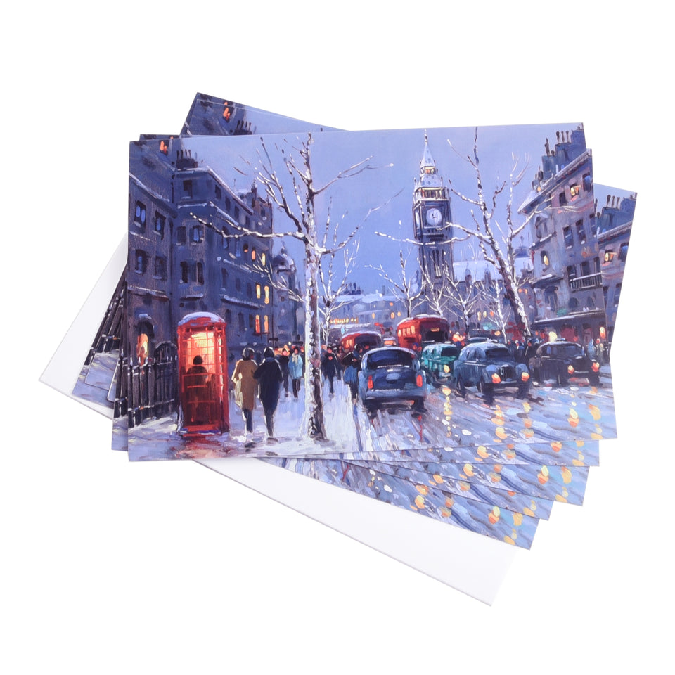 Winter in London Christmas Cards - Pack of 5 featured image