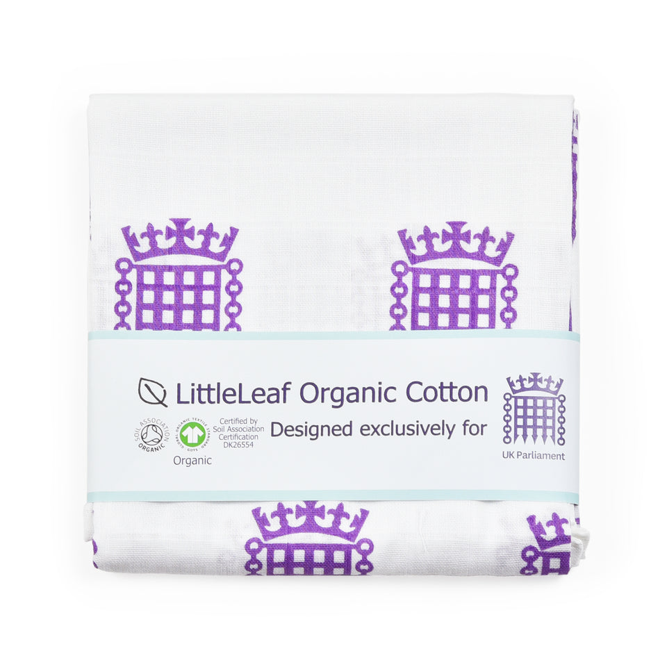 UK Parliament Organic Cotton Muslin Square featured image