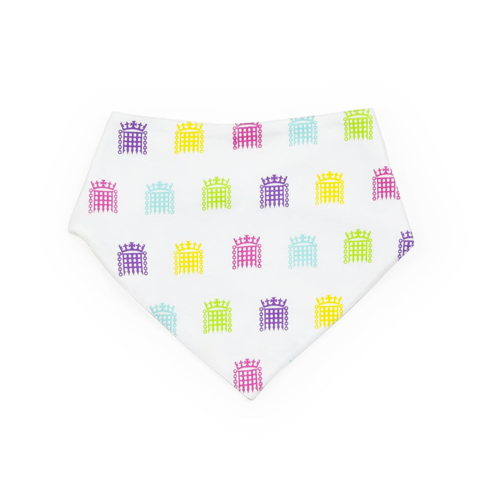 UK Parliament Organic Cotton Bandana Bib featured image