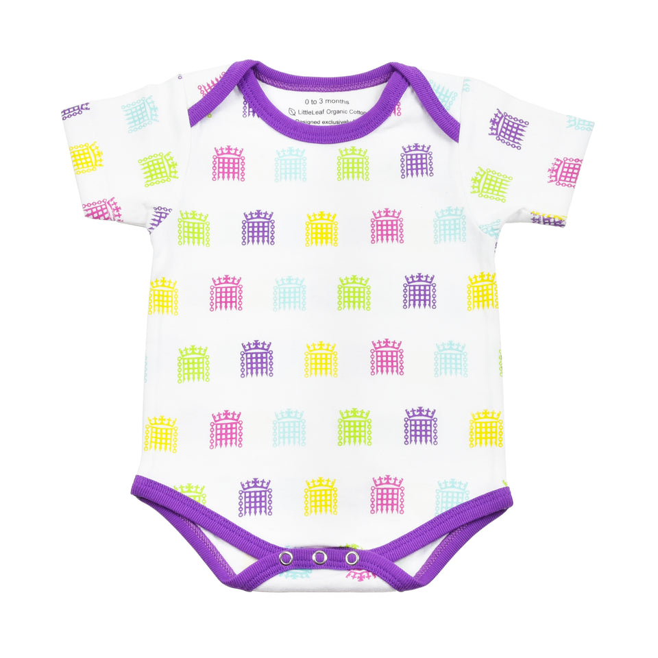 UK Parliament Portcullis Baby Bodysuit featured image