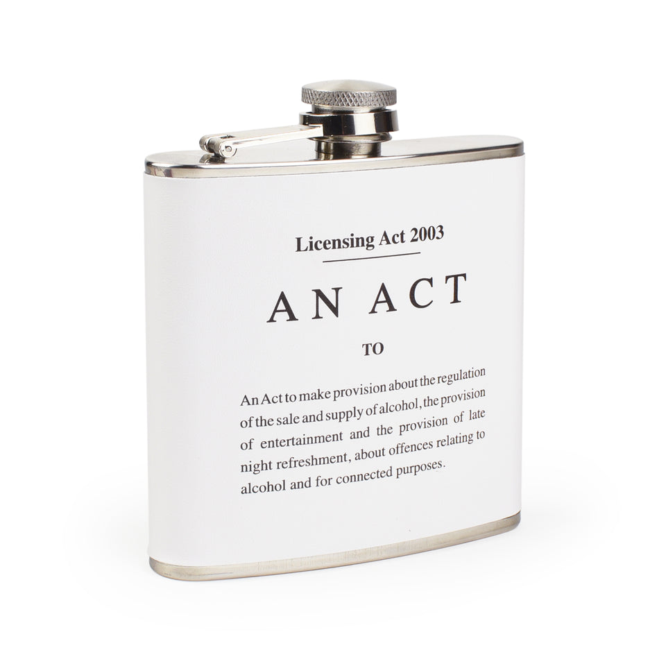 The Licensing Act Hip Flask featured image