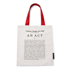 The Climate Change Act Tote Bag