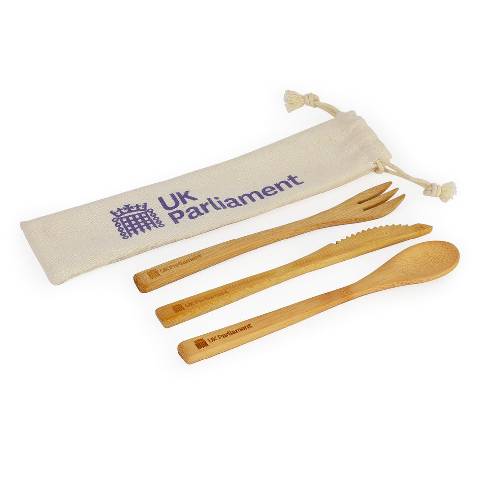 UK Parliament Bamboo Cutlery Set featured image