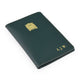 Personalised Leather Passport Holder image 3