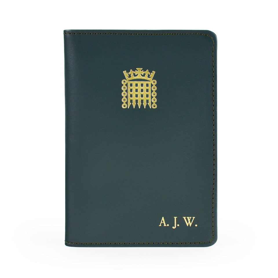 Personalised Leather Passport Holder featured image