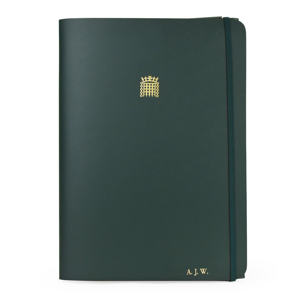 Personalised A4 Leather Folder featured image