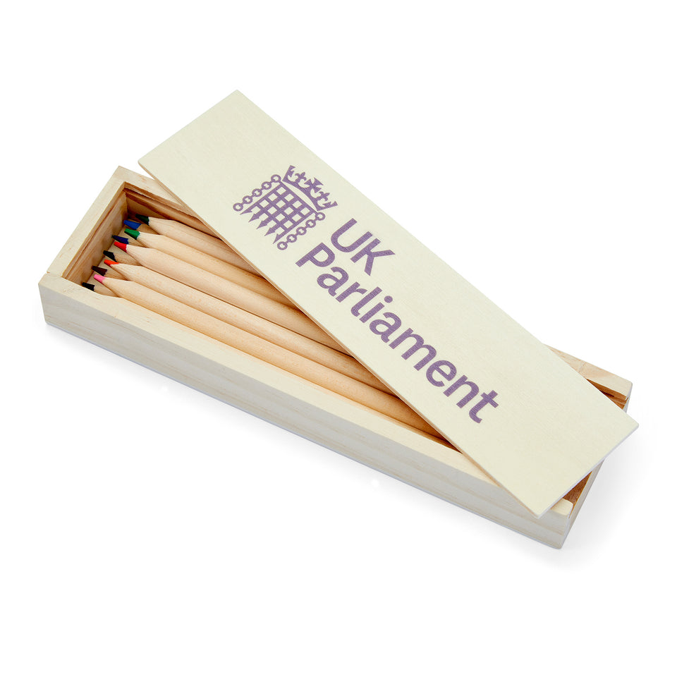 UK Parliament Colouring Pencils in a Box featured image