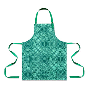 Lion Tile Apron