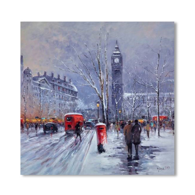 London Snowfall Christmas Cards featured image