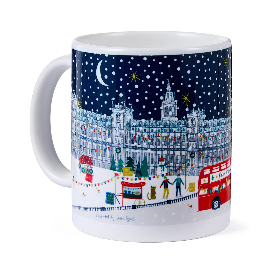 Thames Frost Fair Mug by Jessica Hogarth featured image