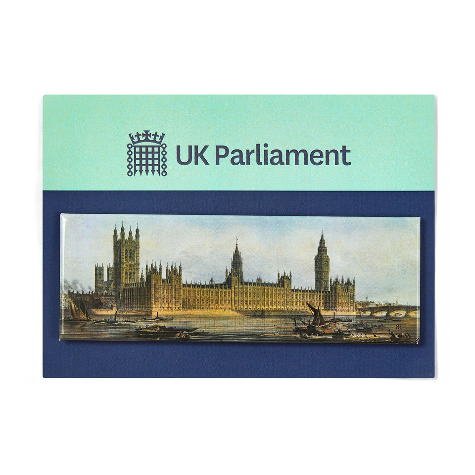 Palace of Westminster at 150 Commemorative Magnet featured image