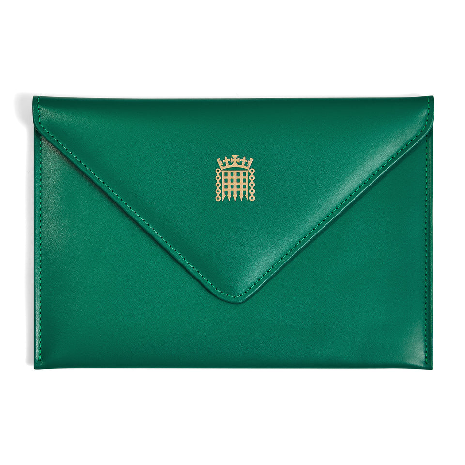 Padded Leather Envelope with Silk Lining featured image
