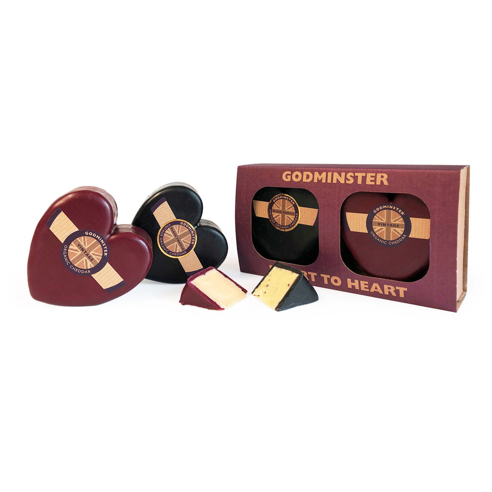 Godminster Heart to Heart Cheese Gift Set featured image