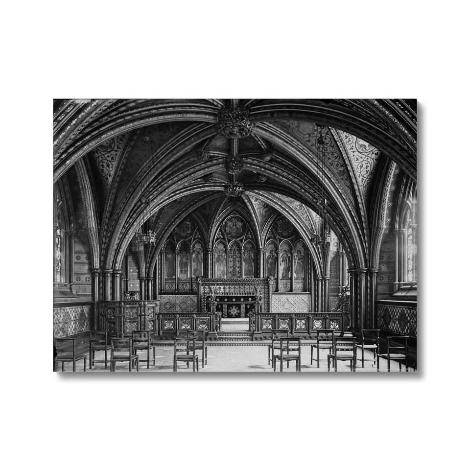 Crypt Chapel (Chapel of St Mary Undercroft), c.1905 Canvas featured image