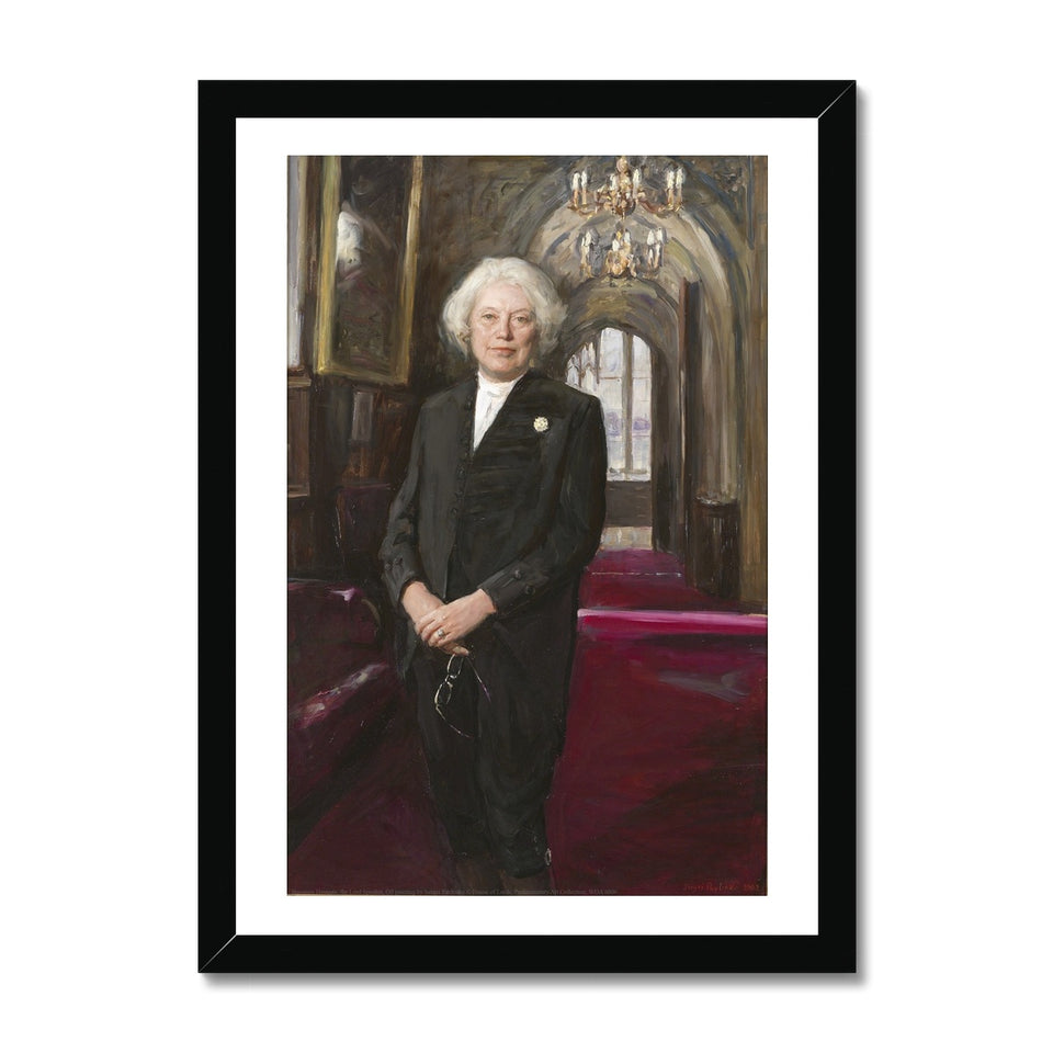 Baroness Hayman Framed Print featured image