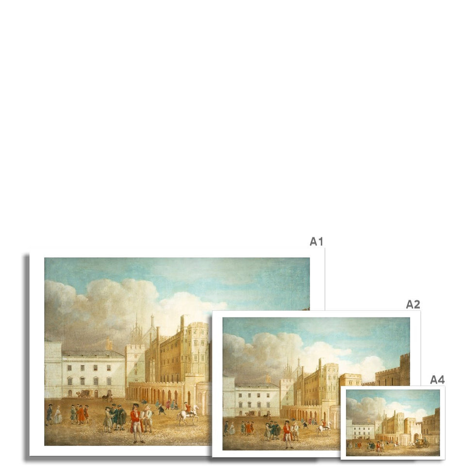 Old Palace Yard about 1760 Fine Art Print featured image