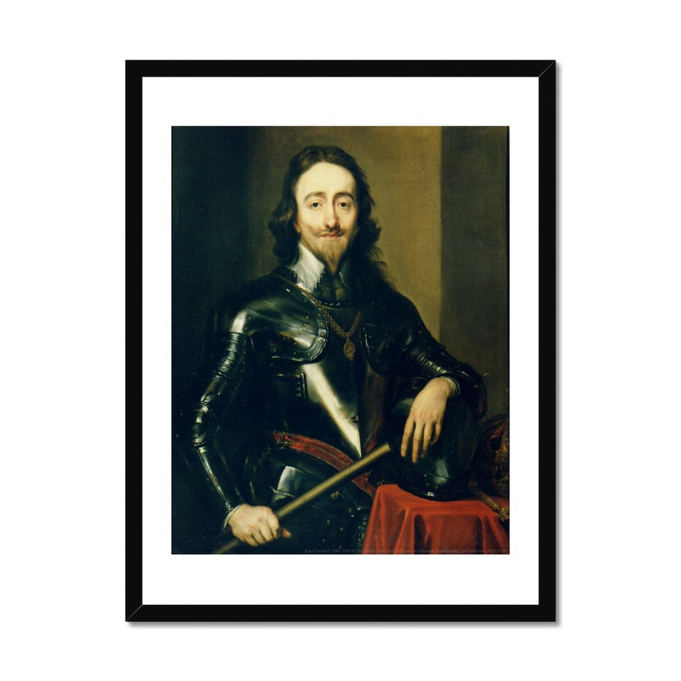 King Charles I Framed Print featured image