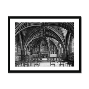 Crypt Chapel (Chapel of St Mary Undercroft), c.1905 Framed Print