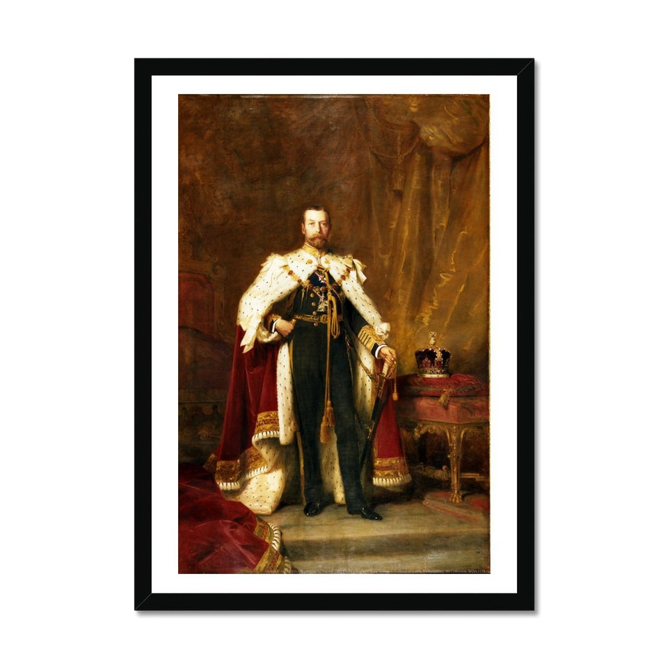 George V Framed Print featured image