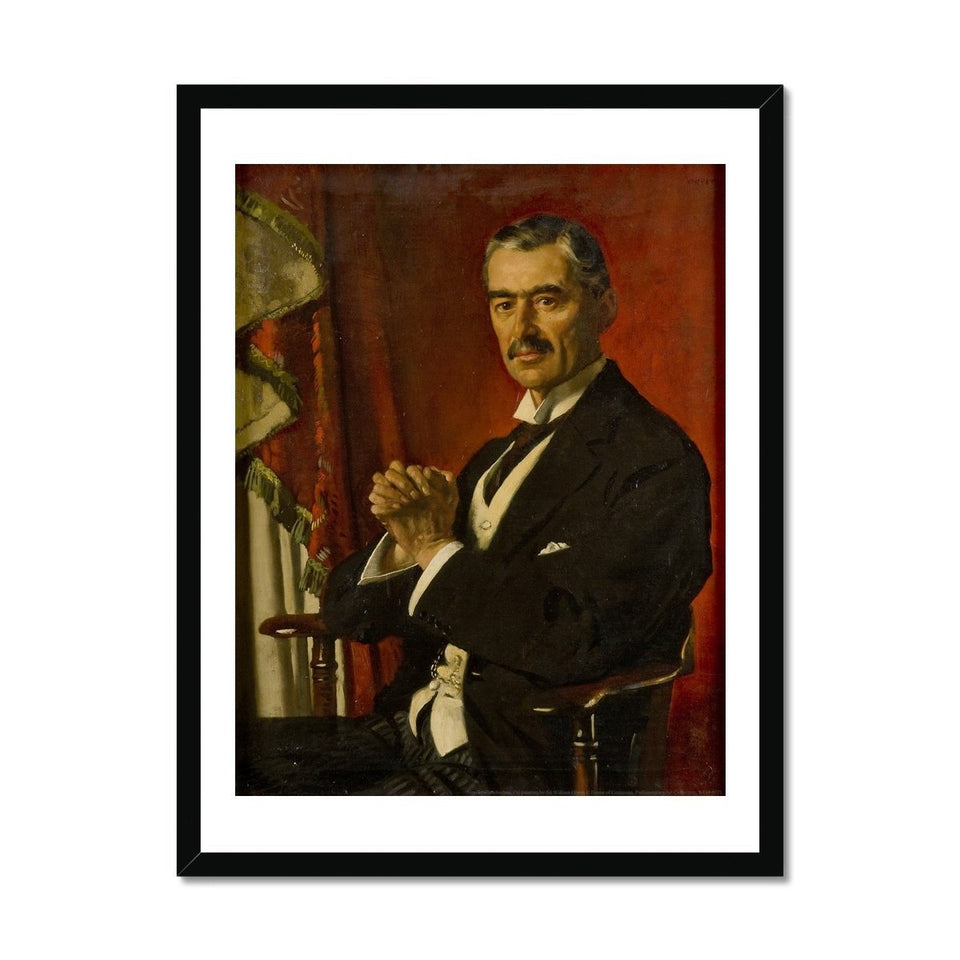 Neville Chamberlain Framed Print featured image