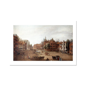 View of Old Palace Yard Fine Art Print