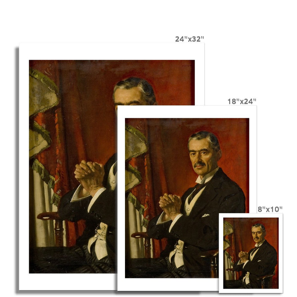 Neville Chamberlain Fine Art Print featured image
