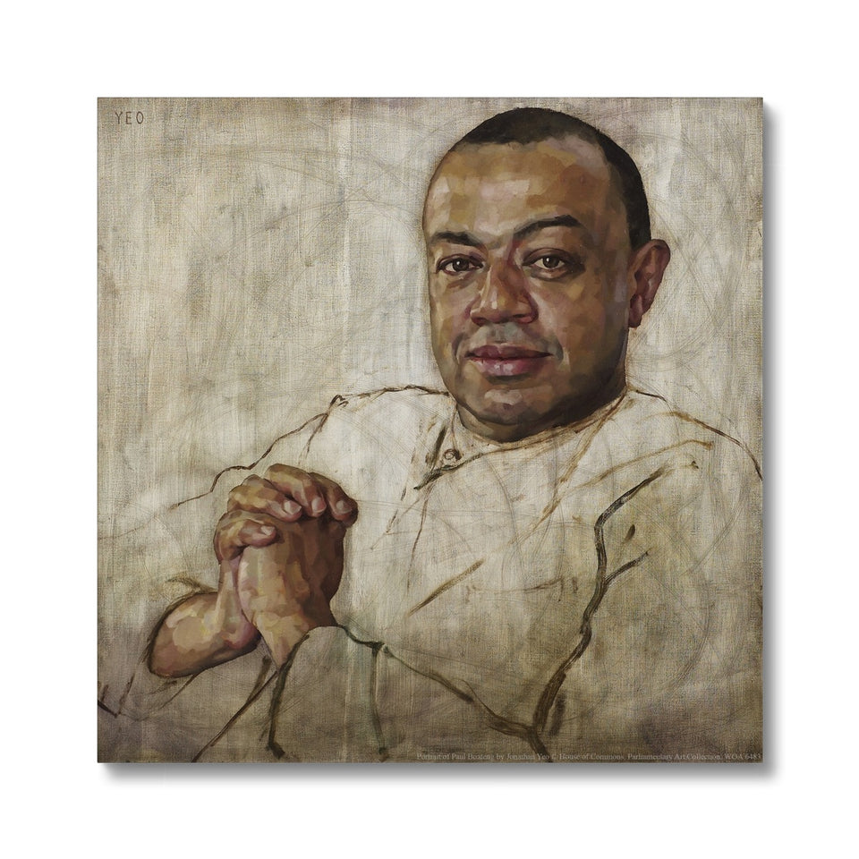 Portrait of Paul Boateng Canvas featured image