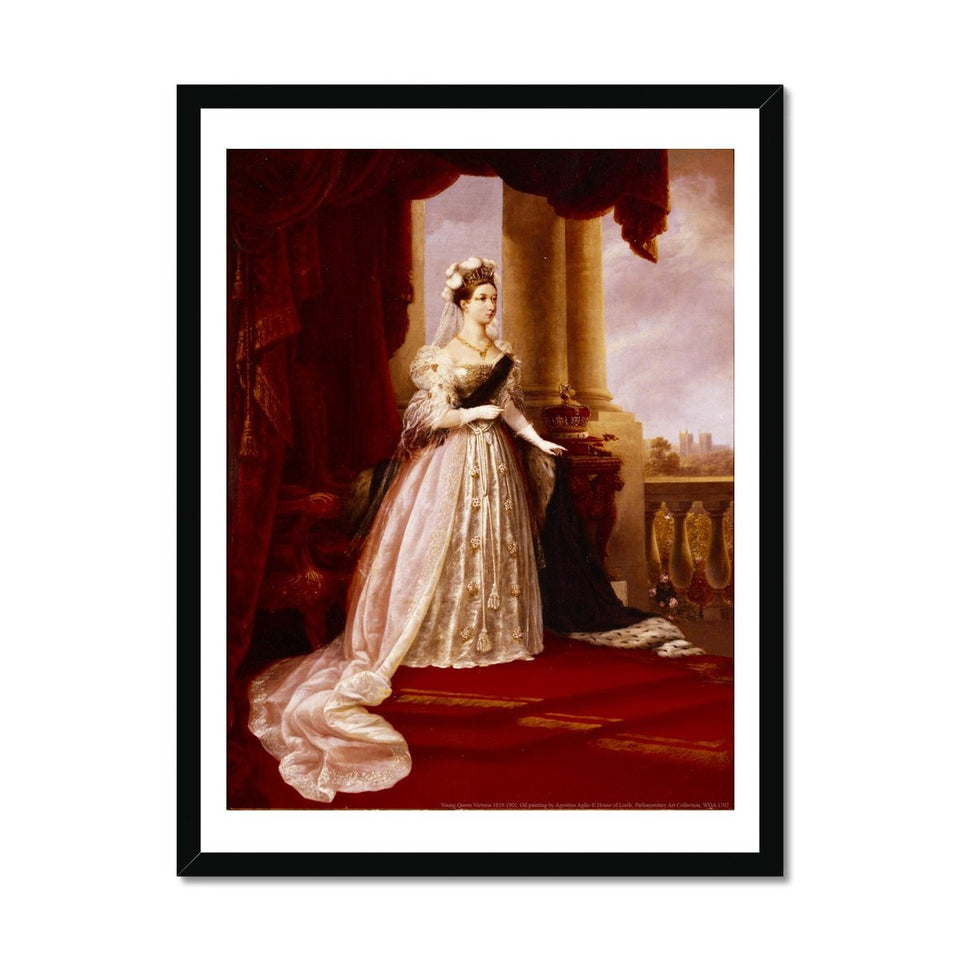 Young Queen Victoria Framed Print featured image