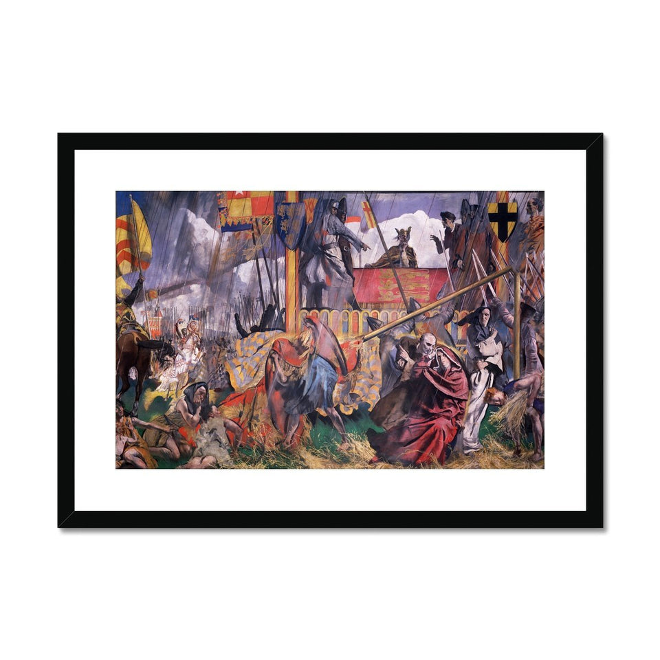 King John Assents to the Magna Carta Framed & Mounted Print featured image