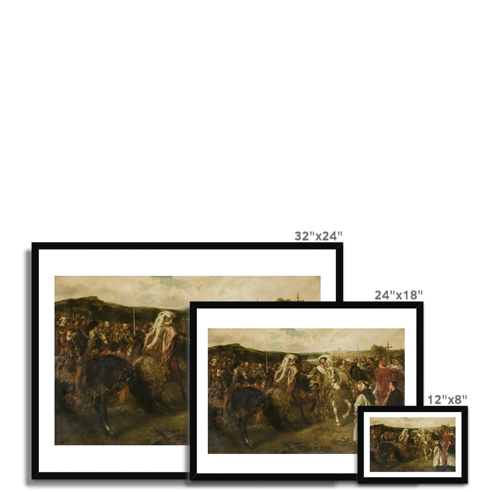 The Field of the Cloth of Gold Framed Print featured image