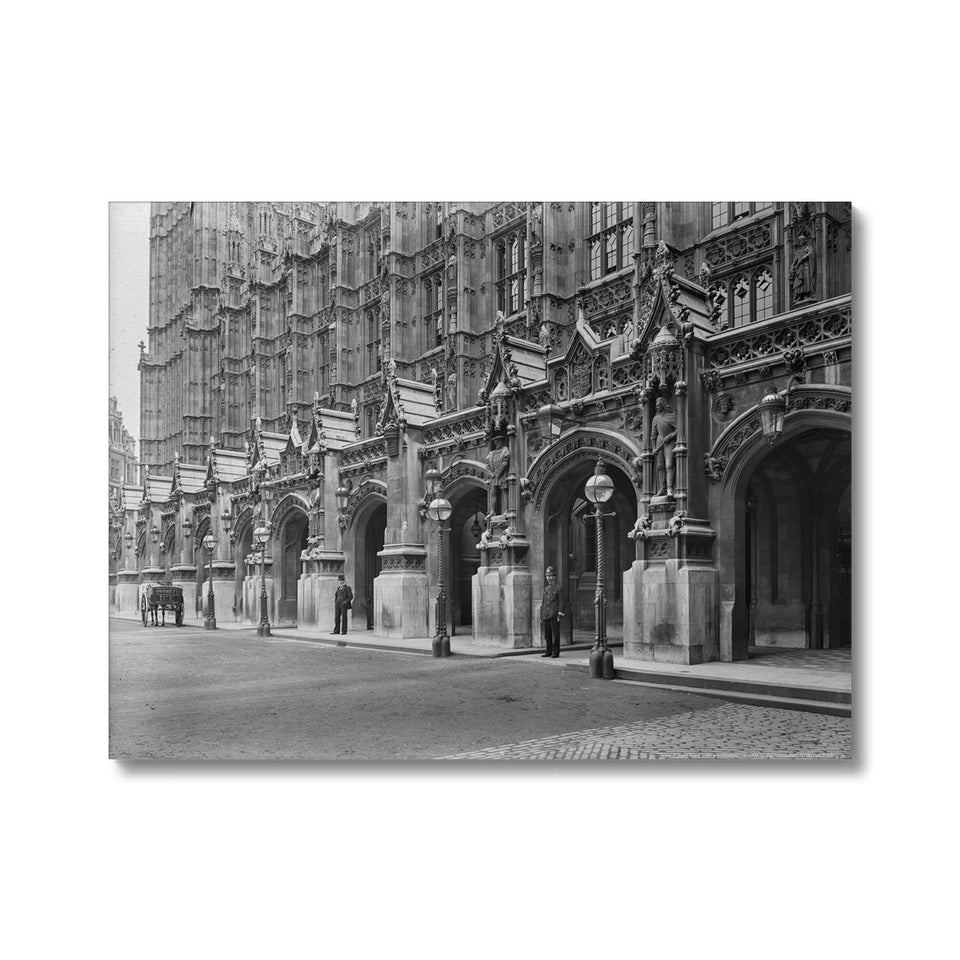 New Palace Yard with a policeman, c.1905 Canvas featured image
