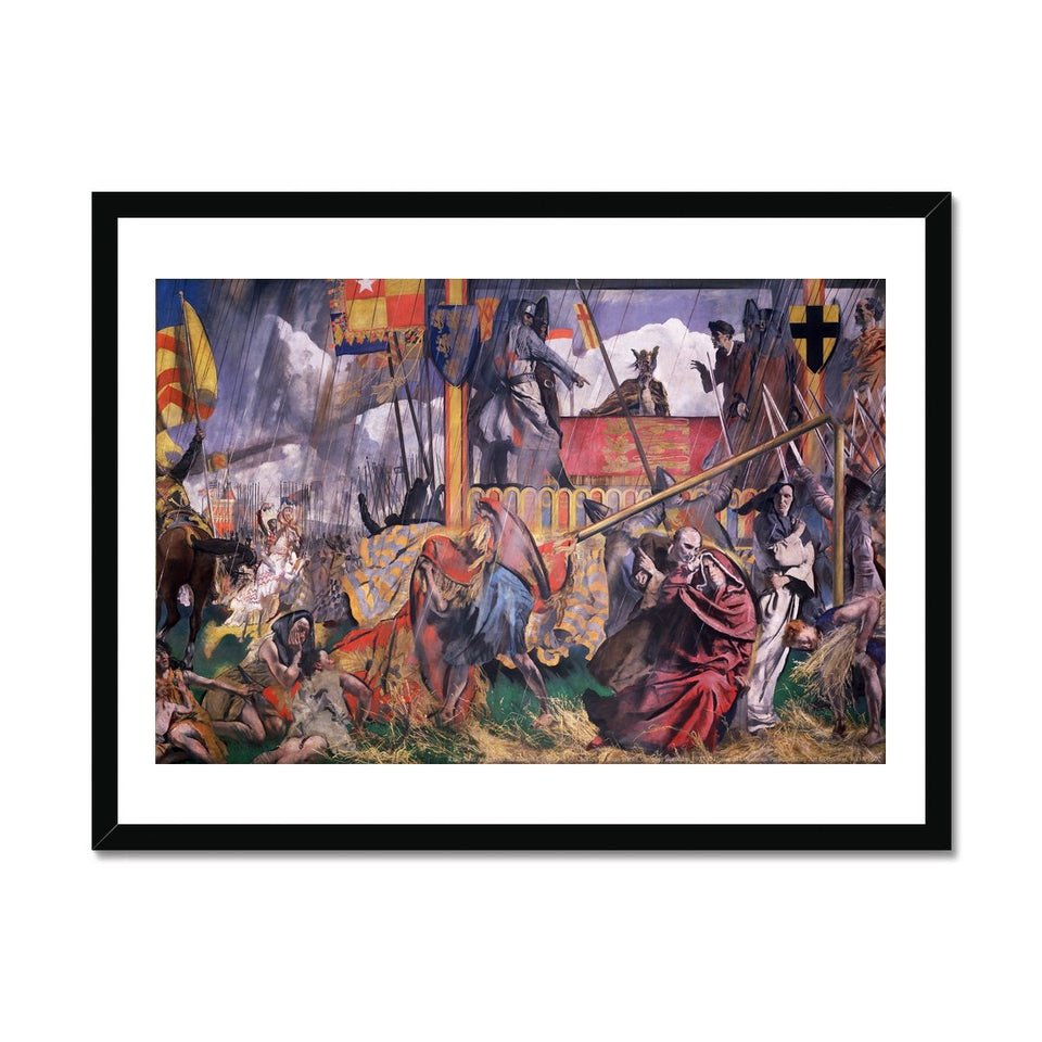 King John Assents to the Magna Carta Framed Print featured image