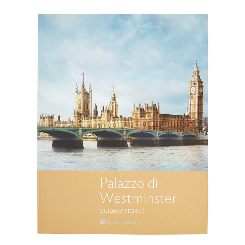 The Palace of Westminster Official Guide - Italian featured image