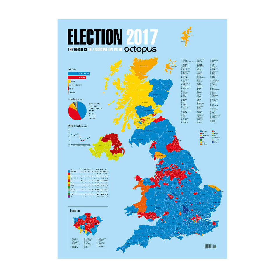 Election 2017 Map featured image