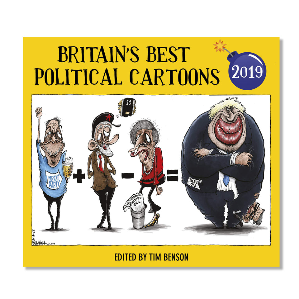 Britain's Best Political Cartoons 2019 featured image