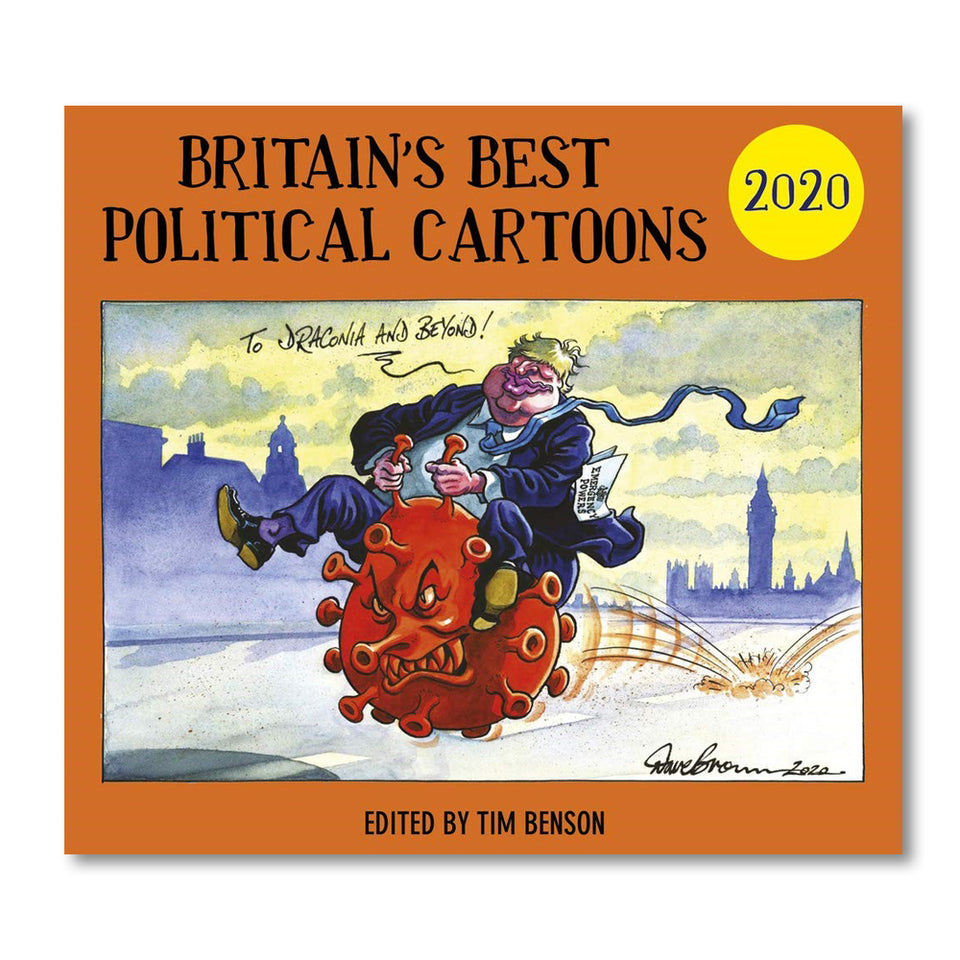 Britain's Best Political Cartoons 2020 featured image